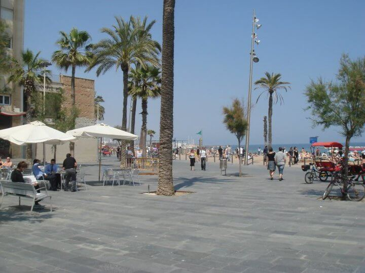 One Day in Barcelona - Barcelona Beach