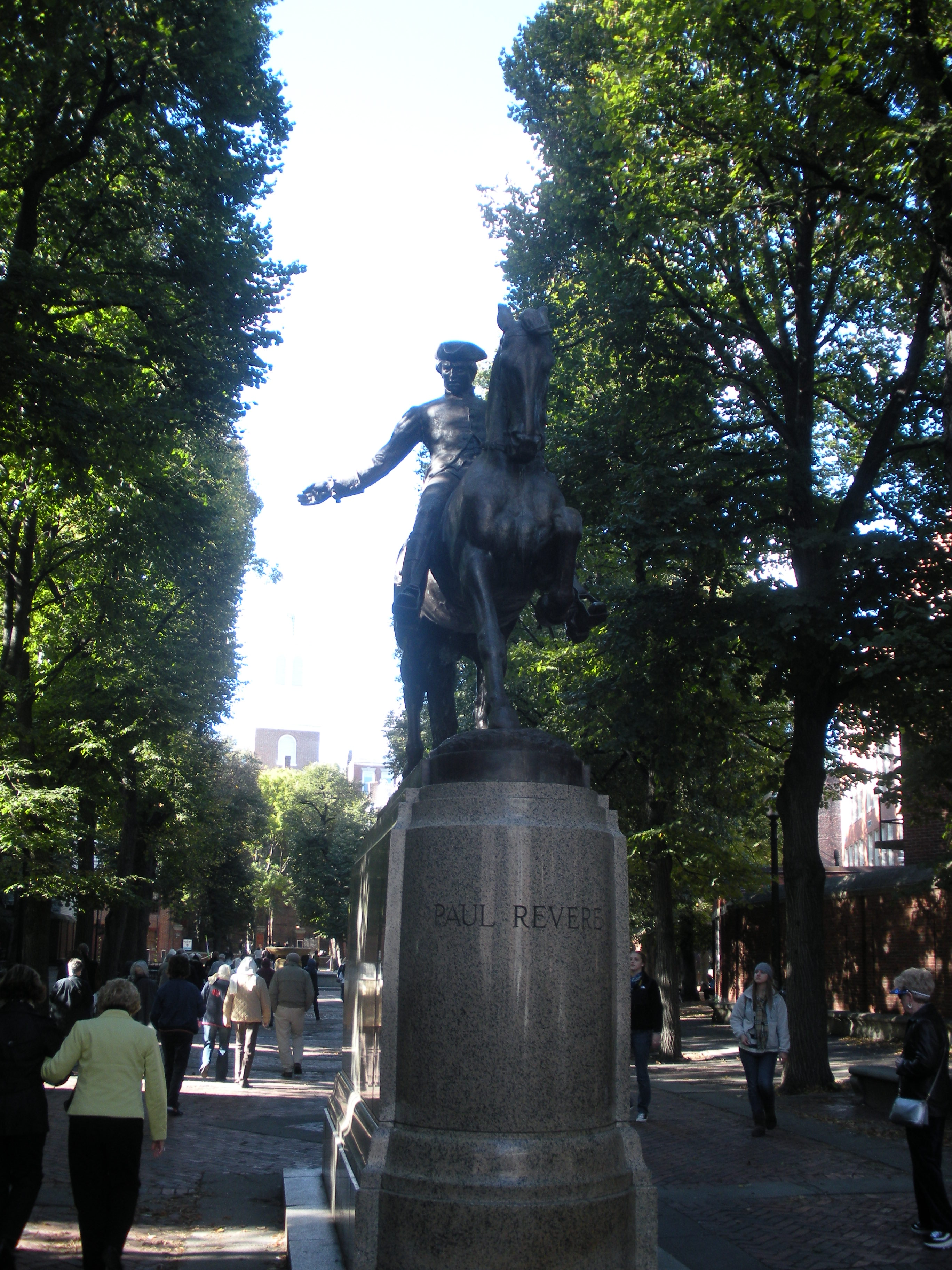 One day in boston what to do if short on time one day in boston paul revere mall solutioingenieria Image collections