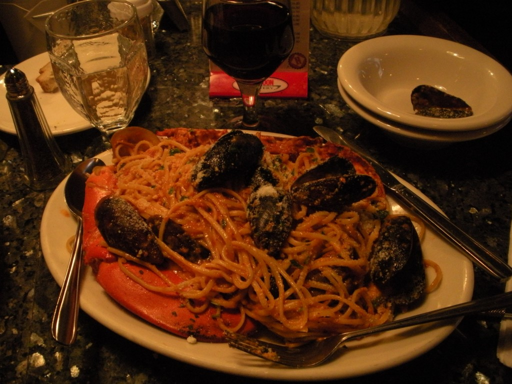 One Day in Boston - Giacomo's Meal in Boston