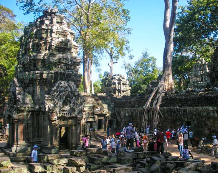 Ta Prohm Temple near Siem Reap