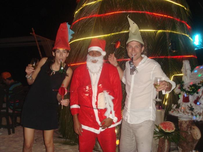 Celebrating Christmas in Ko Phi Phi, Thailand