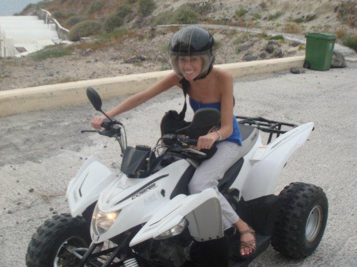 Santorini 4-Wheeling