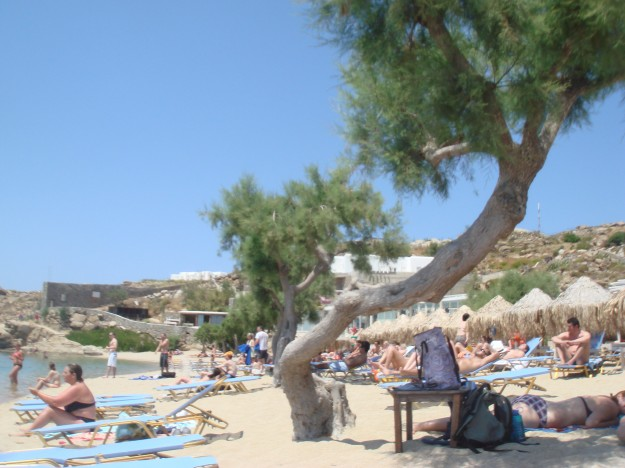 Paradise Island Beach, Mykonos, Greece