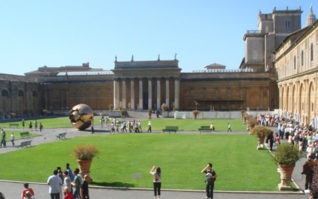 One Day in Rome: Plan ahead to avoid the lines when visiting the Vatican Museum.