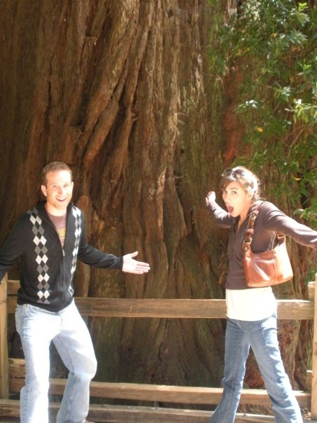 Whoa! Muir Woods has some big trees.