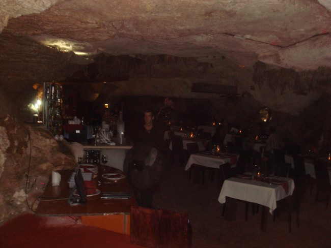 Alux Cave Restaurant: The Main Dining Room