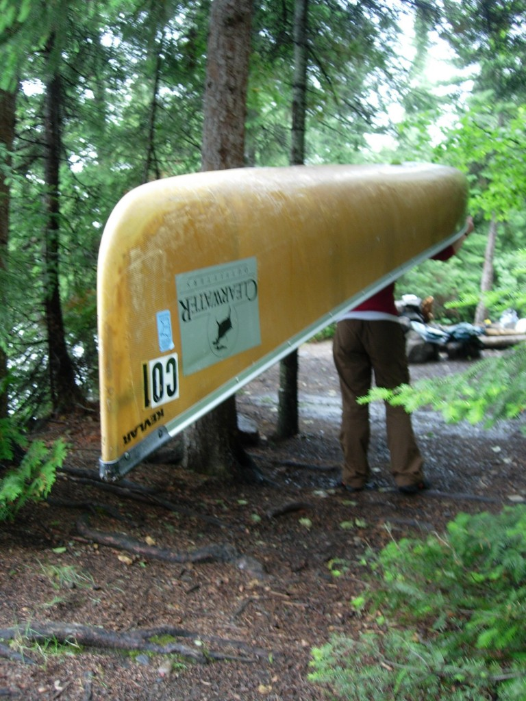 Minnesota Boundary Waters: That Time a Canoe Fell on Me