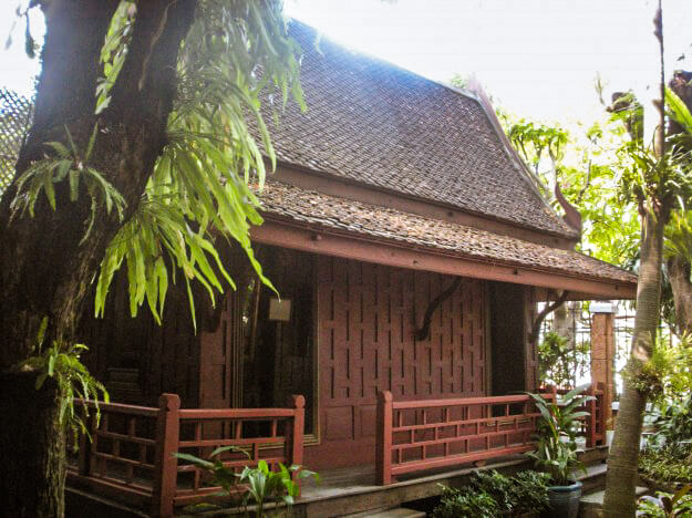 Part of the Jim Thompson House in Bangkok, Thailand