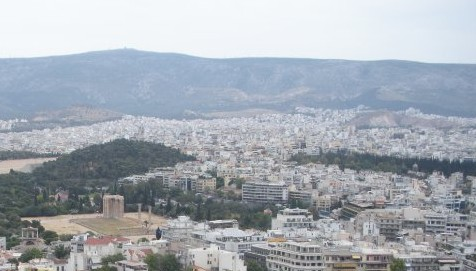 Visit Athens: Where history and urban sprawl combine.