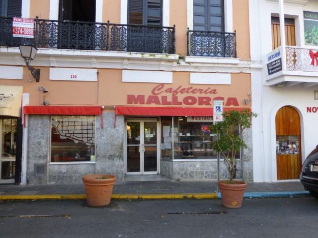 Cafeteria Mallorca, San Juan