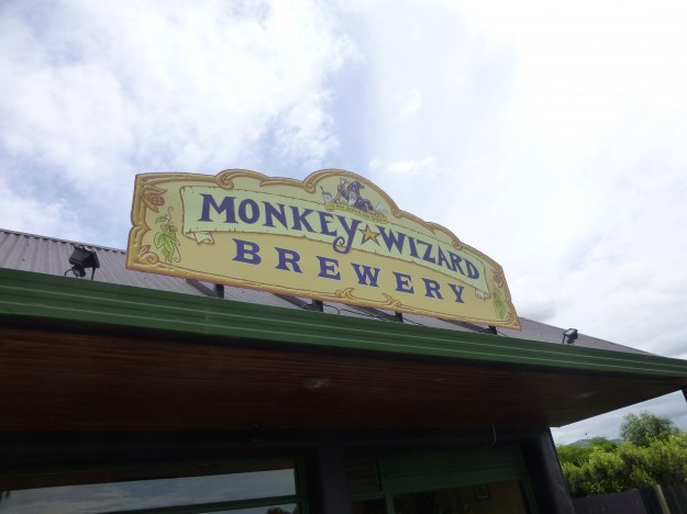 Monkey Wizard Brewery in Riwaka, New Zealand