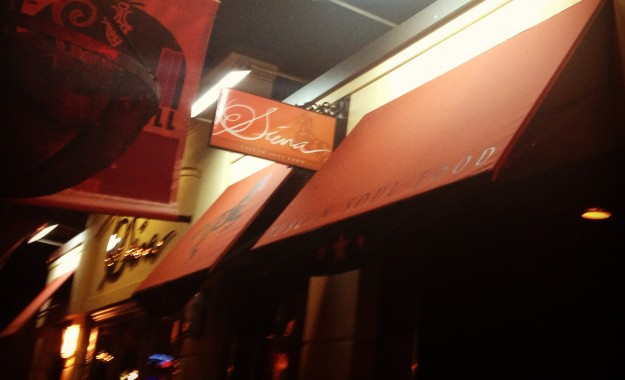 Siena Restaurant: Located on a cute street in Providence's Federal Hill neighborhood.