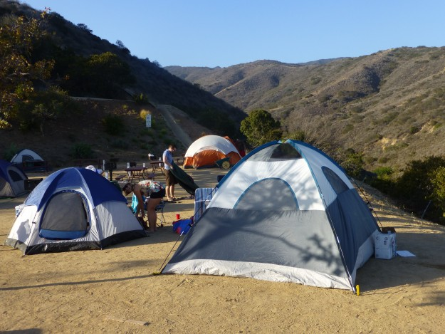 The Malibu Beach RV Park has c&sites for tents in the Malibu hills with great ocean & Camping in Malibu and a Super Moon