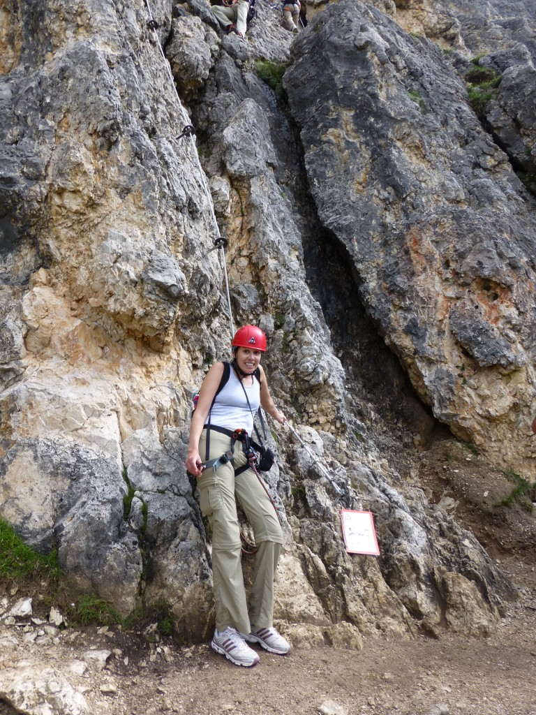 Rock Climbing degli Alpini in the Dolomites