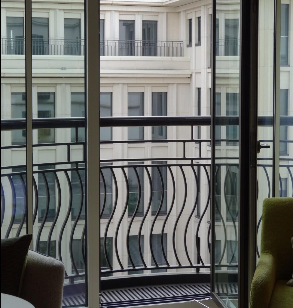 Charles Hotel Balcony in Munich