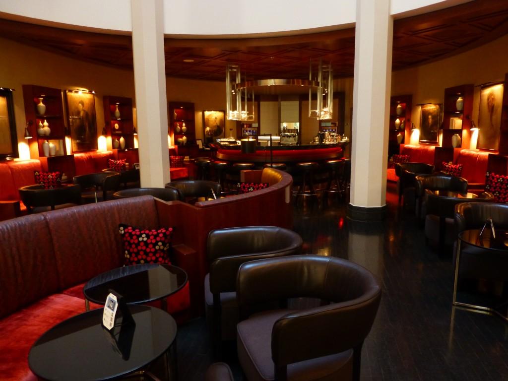 The Charles Hotel lobby in Munich.