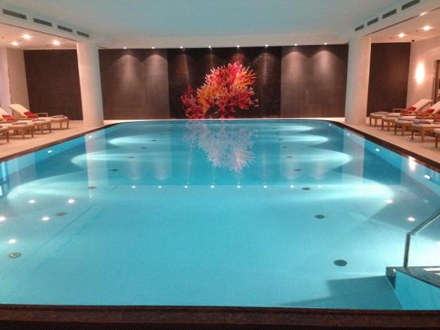 Charles Hotel Spa Pool in Munich