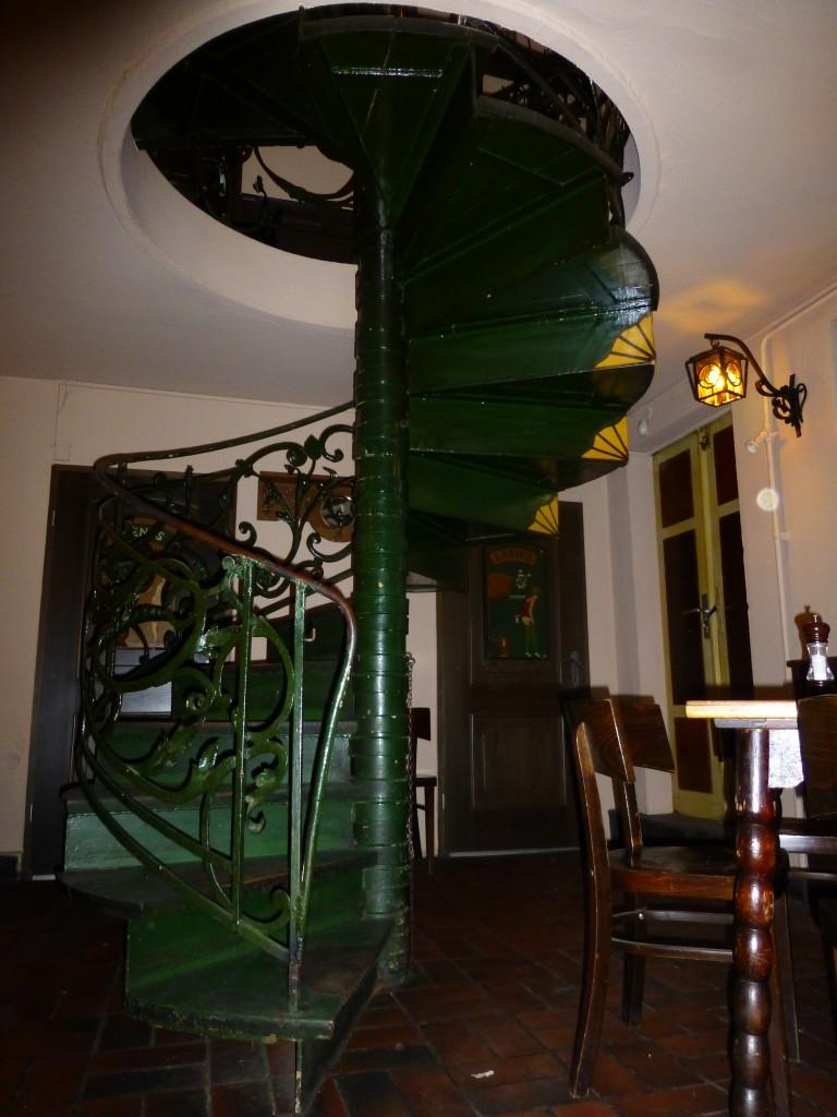 Zur Letzten Instanz Spiral Staircase in Berlin
