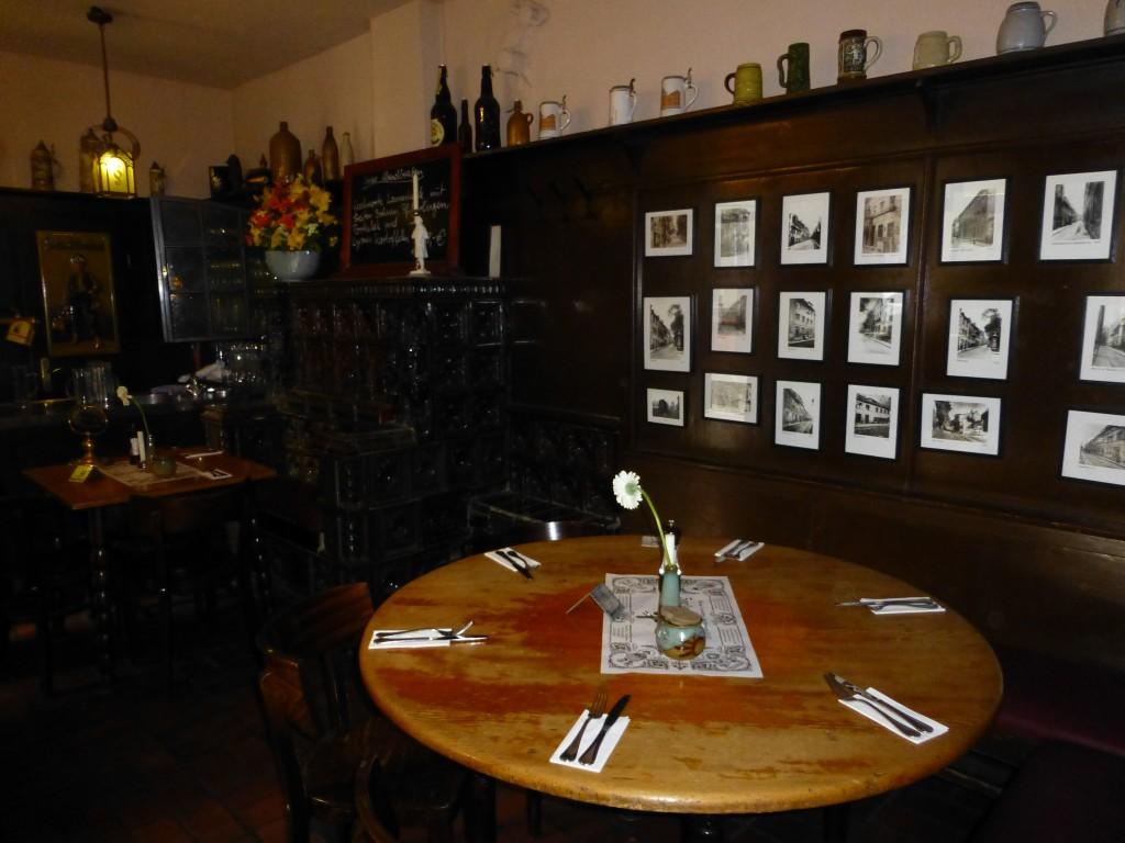 Zur Letzten Instanz Dining Area