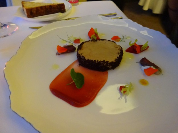 Bellevue Restaurant Foie Gras in Prague