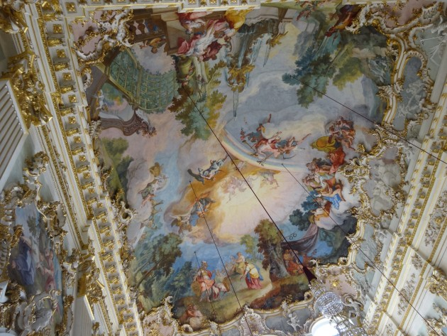 Schloss Nymphenburg Festival Room Ceiling
