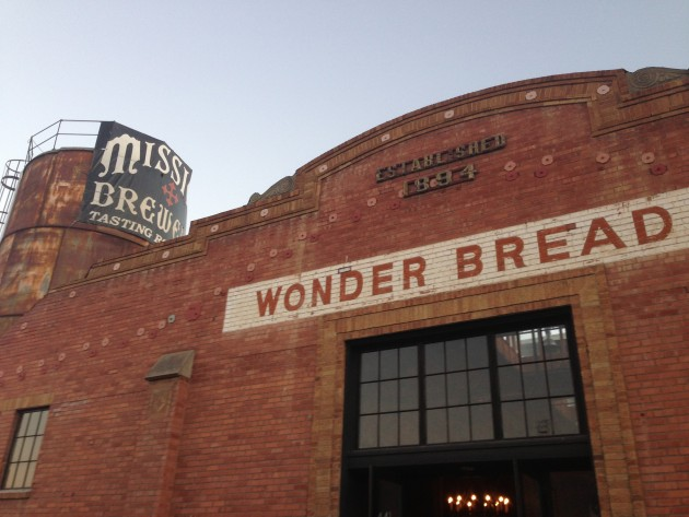 Mission Brewery, housed in the old Wonder Bread building.