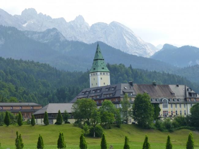 Schloss Elmau in Bavaria, Germany