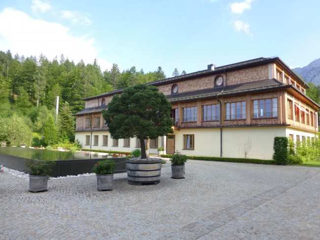 Schloss Elmau is beautiful both indoors and out.