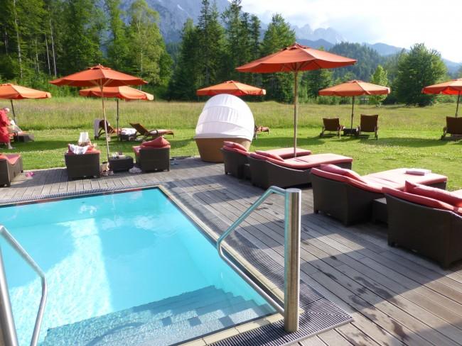 Schloss Elmau Adult Pool