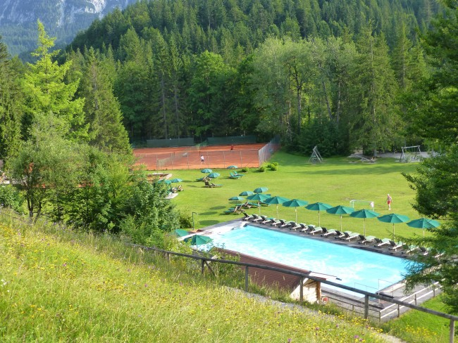 Schloss Elmau: Play and swim in the middle of the Bavarian countryside.