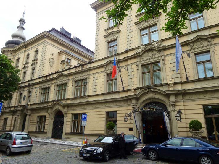 Le Palais Hotel in Prague