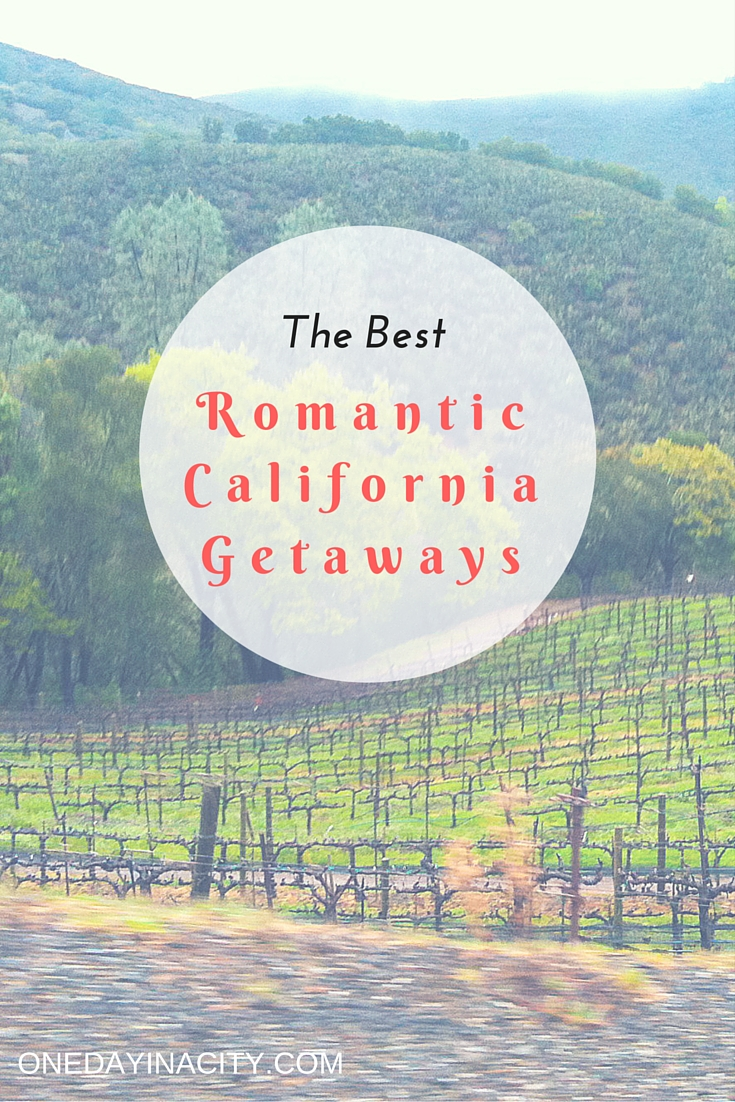 Looking for some romance in California? After living in San Diego for over 10 years, I've done many weekend trips and these are some of my favorite California cities and towns for a romantic getaway.