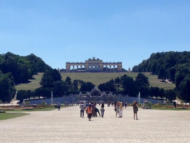 The grounds of Schonbrunn Palace are pretty lovely, too.