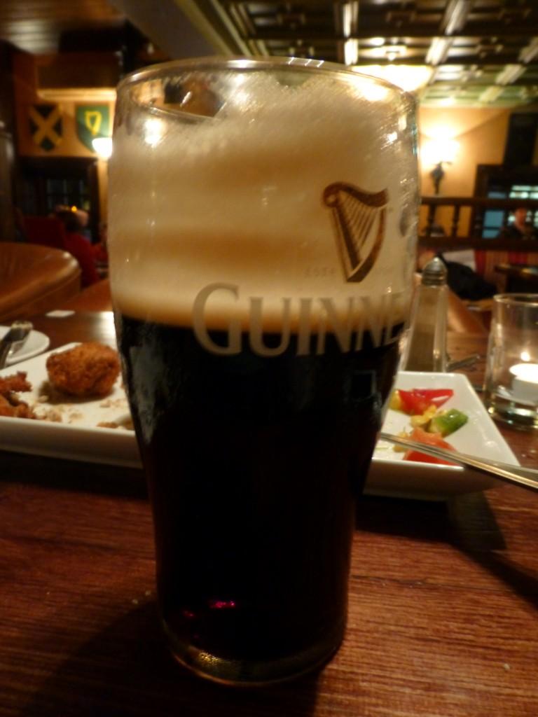 How to drink a Guinness: KPI Guinness Rings