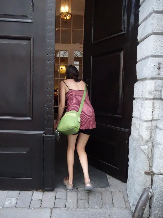 Antiq Palace Door