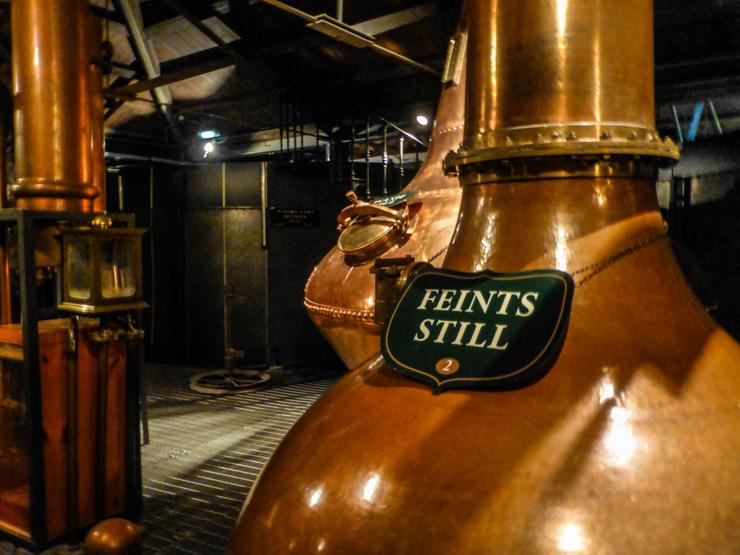 Old Jameson Distillery in Dublin.