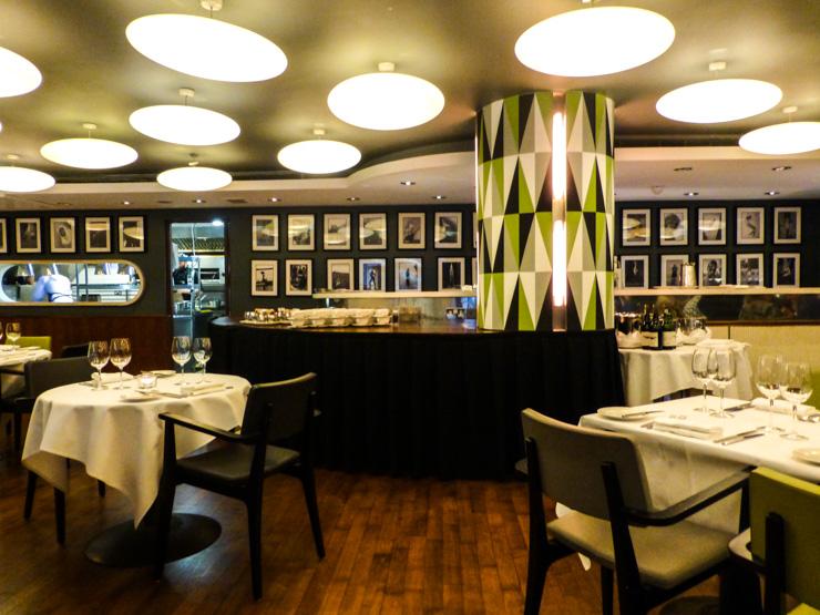 Citron Restaurant dining room in Fitzwilliam Hotel.