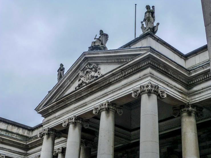 Irish Houses of Parliament in Dublin