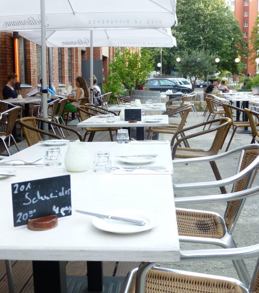 Sage Restaurant Patio