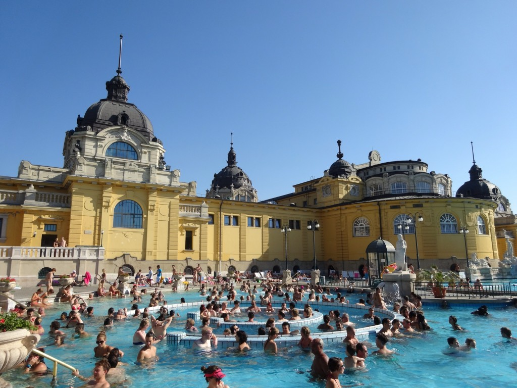 a Massage at Széchenyi Baths in Budapest