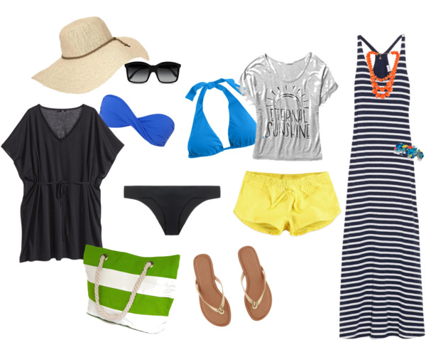 What to wear at a Caribbean beach resort.