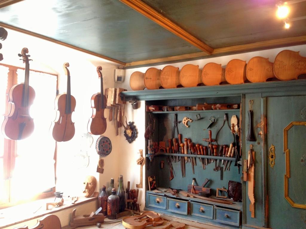 Geigenbau Museum in Mittenwald