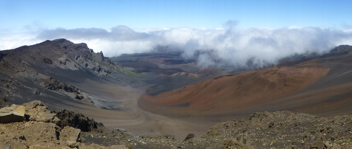 Mount Haleakala -- no sunset required to be impressed.