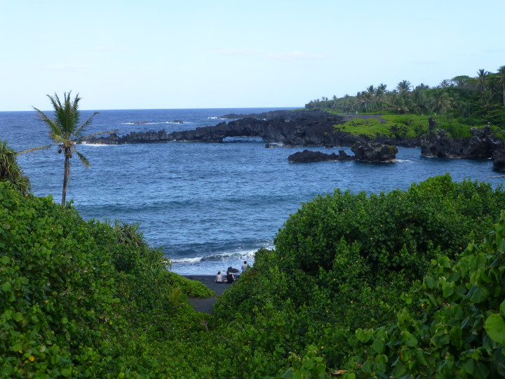 View point along the Road to Hana.