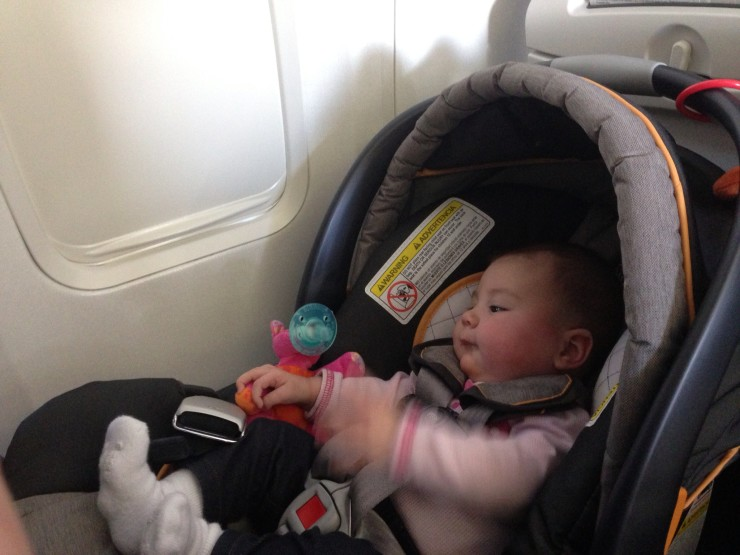 Car Seat On Airplane