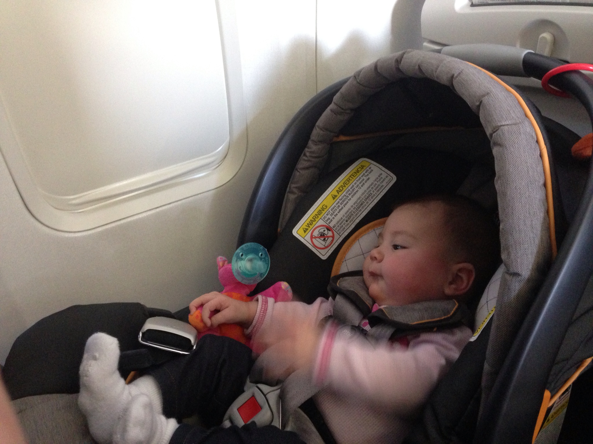 Tips For Flying With Baby In A Carseat