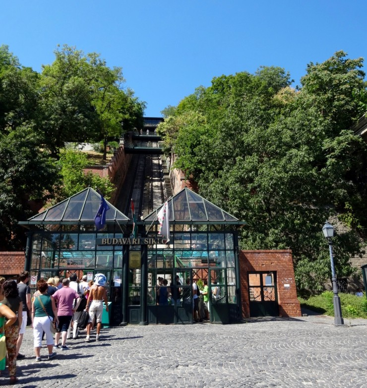 There is also a fun funicular train to get up to the top of Buda Castle District.