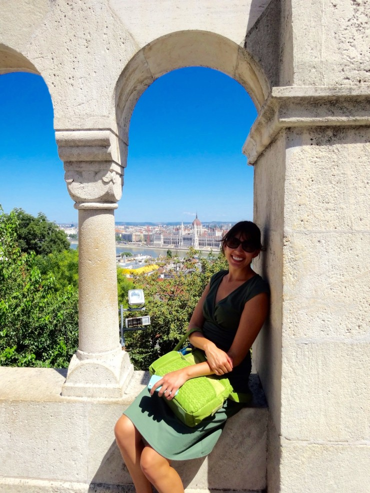 Views from Fisherman's Bastion.
