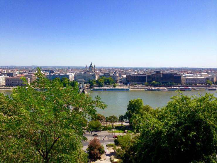 Budapest is built around the Danube River.