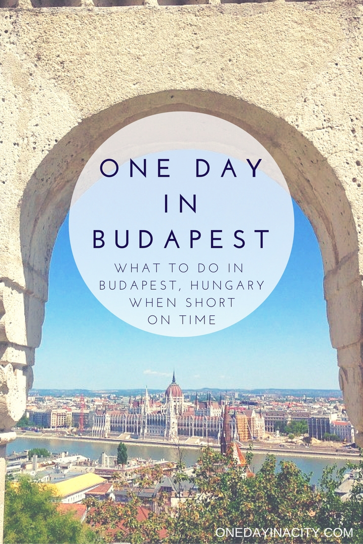 Budapest Travel Guide: Things to see, do, and eat when short on time in Budapest, Hungary.